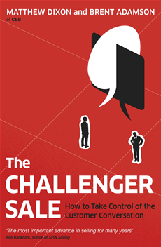 The Challenger Sale Taking Control of the Customer Conversation