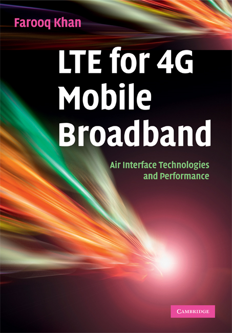 LTE for 4G Mobile Broadband Air Interface Technologies and Performance