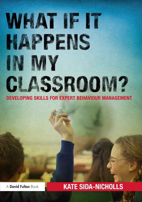 What if it happens in my classroom? By: Kate Sida-Nicholls