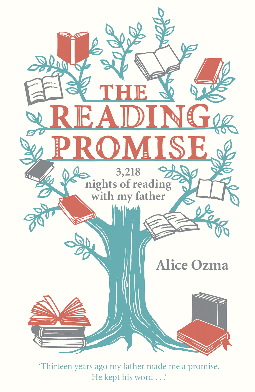 The Reading Promise 3, 218 nights of reading with my father