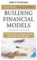 download Building Financial Models, Chapter 13 - The Cash Sweep book