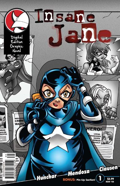 Insane Jane-Graphic Novel