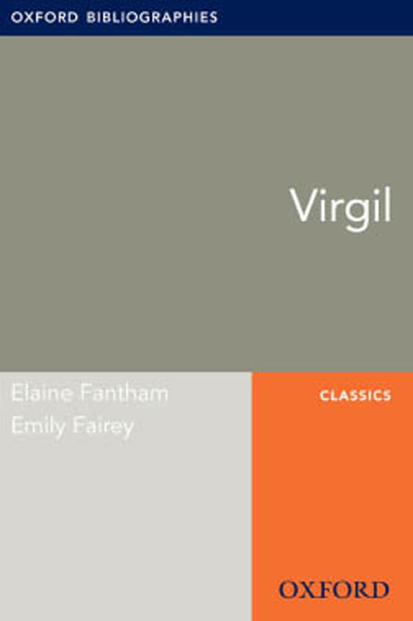 Virgil: Oxford Bibliographies Online Research Guide