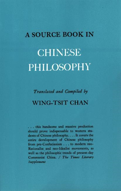 W. Chan - A Source Book in Chinese Philosophy