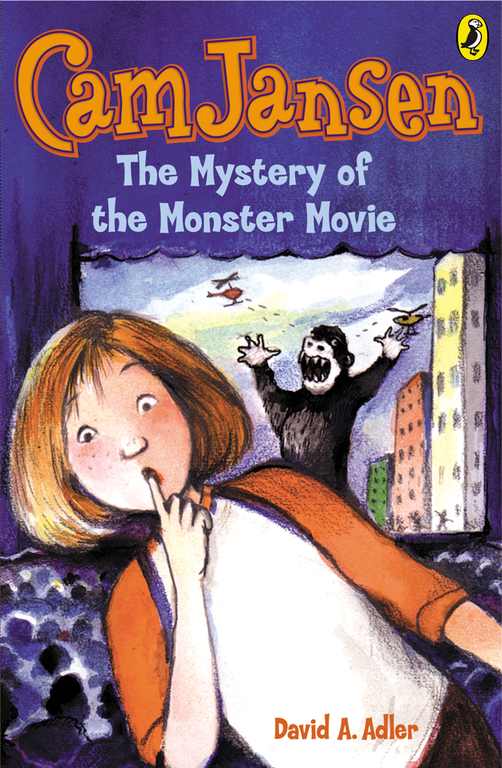 Cam Jansen: The Mystery of the Monster Movie #8 By: David Adler
