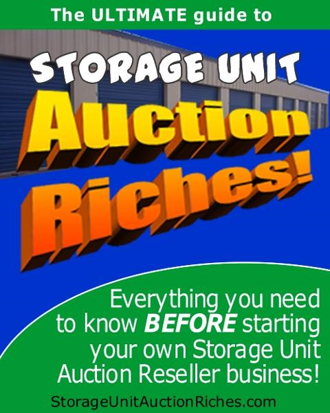 Storage Unit Auction Riches By: Paul Sharp