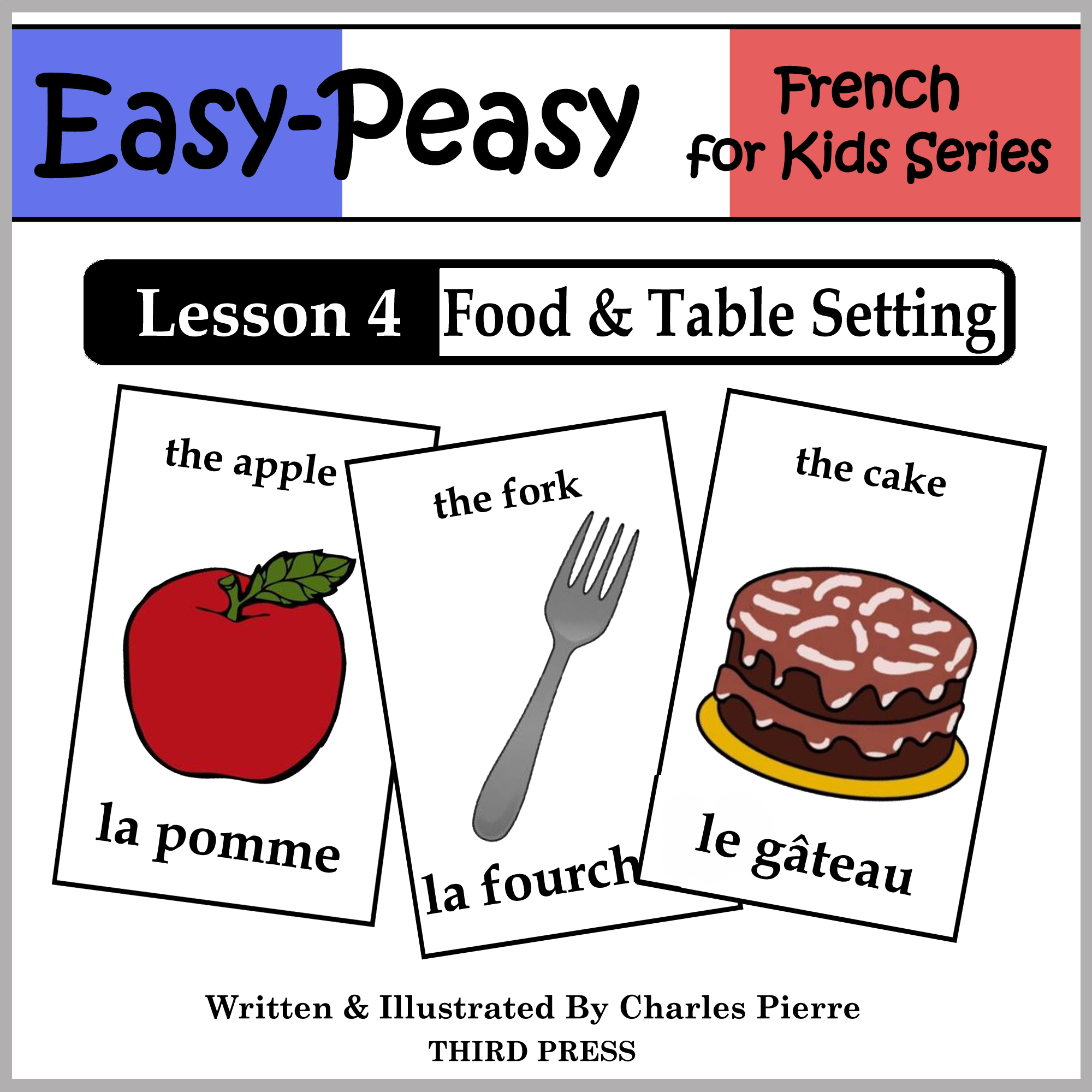 French Lesson 4: Food & Table Setting