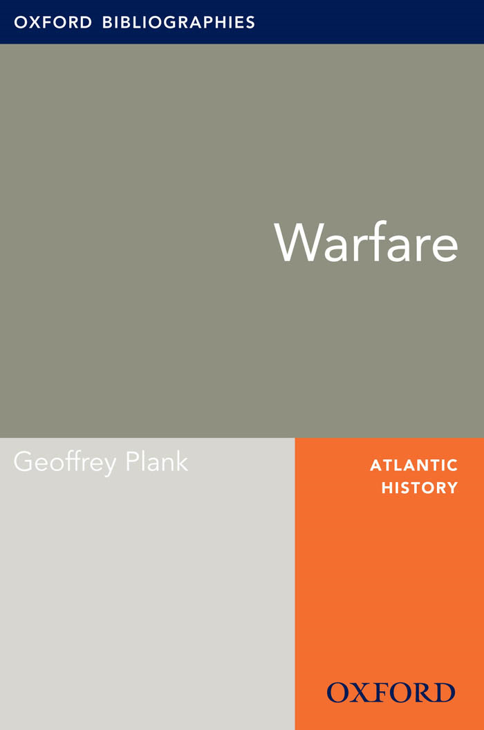 Warfare: Oxford Bibliographies Online Research Guide