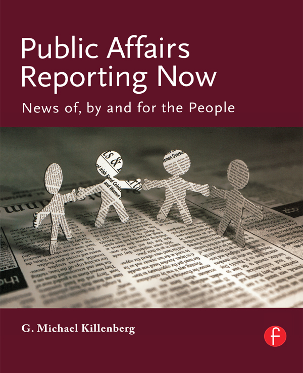 Public Affairs Reporting Now News of,  by and for the People
