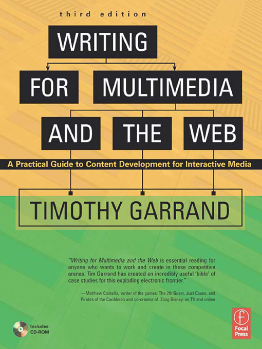 Writing for Multimedia and the Web A Practical Guide to Content Development for Interactive Media