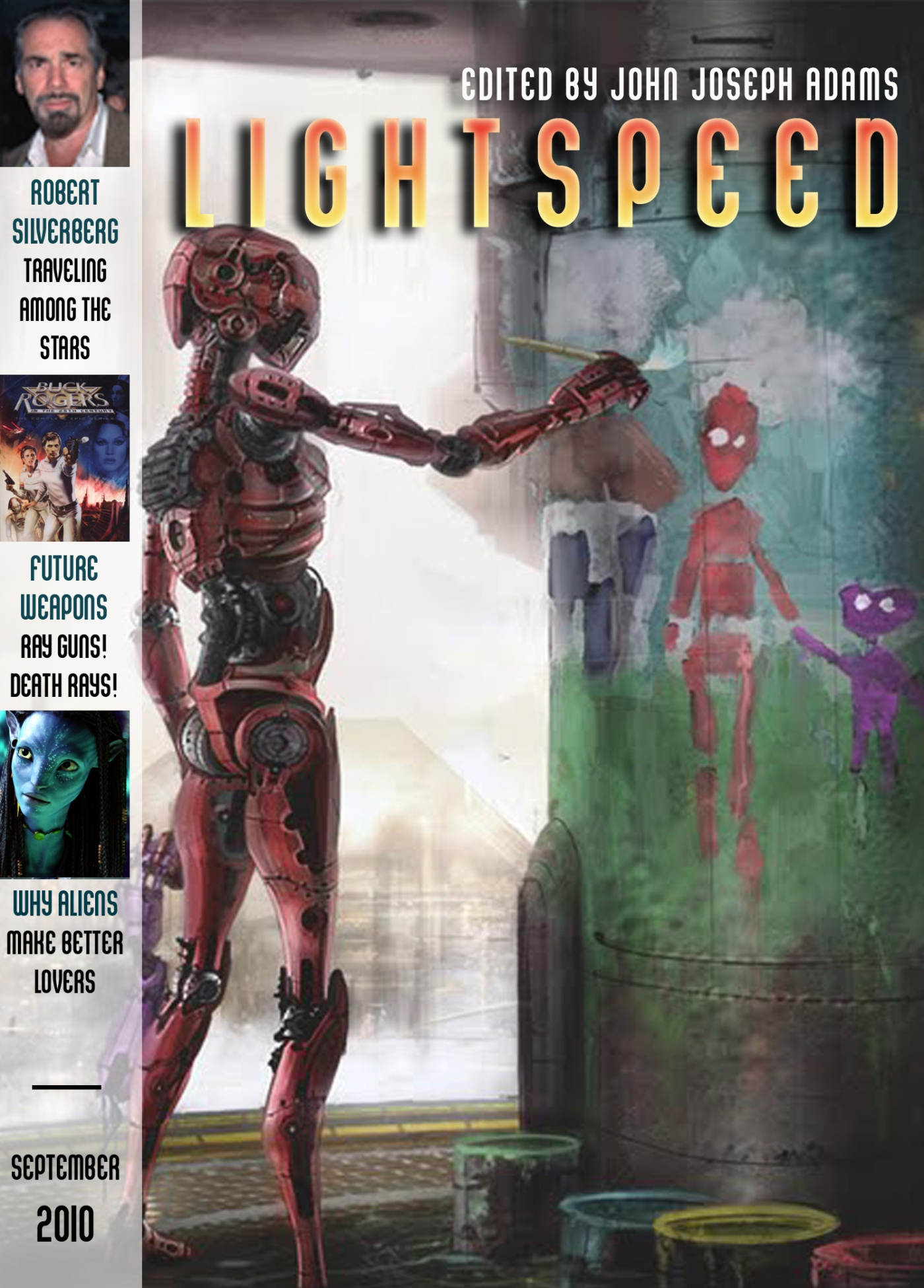 Lightspeed Magazine, September 2010 By: Geoffrey A. Landis,John Joseph Adams,Robert Silverberg