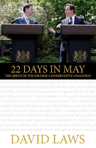 22 Days in May By: David Laws