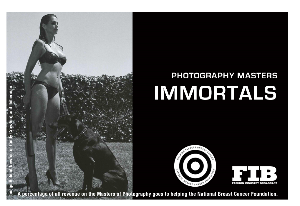 MASTERS OF PHOTOGRAPHY IMMORTALS By: Roberts, Paul G