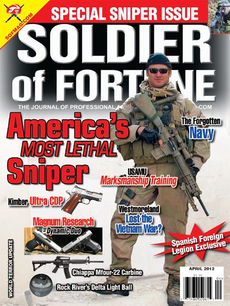 Soldier of Fortune- April 2012