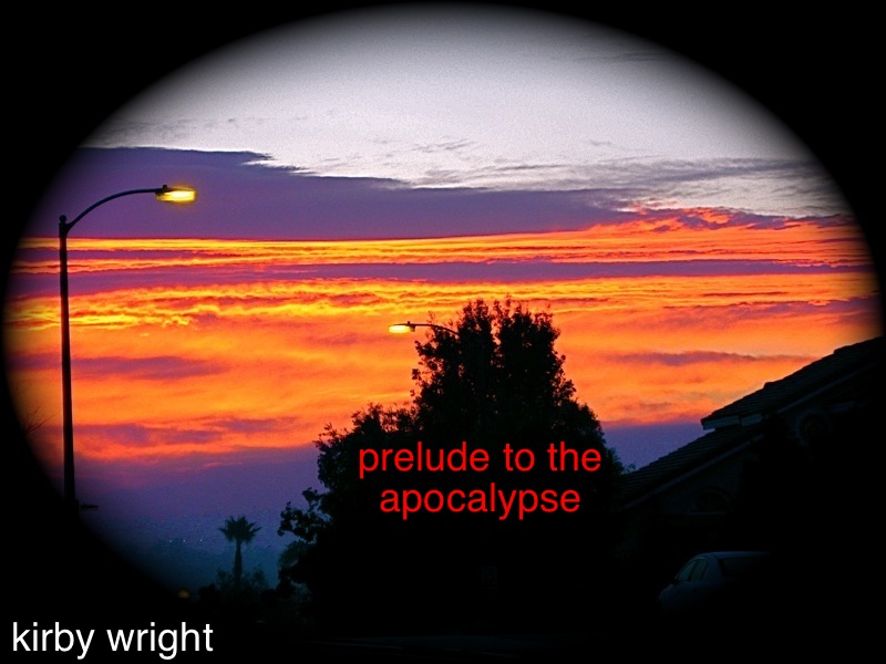 PRELUDE TO THE APOCALYPSE, Book I: CALIFORNIA