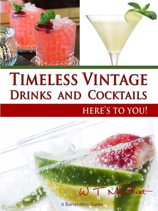 Timeless Vintage Drinks & Cocktails