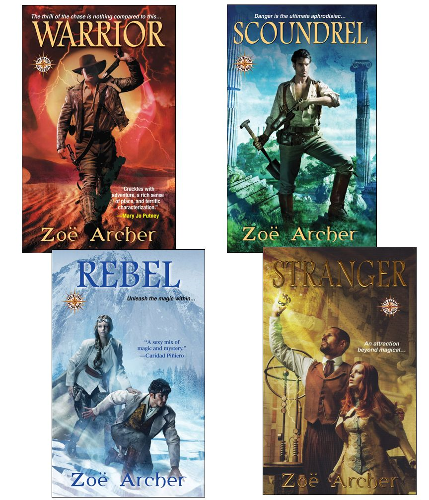 The Blades of the Rose Bundle: Warrior, Scoundrel, Rebel, & Stranger By: Zoe Archer