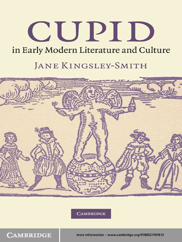 Cupid in Early Modern Literature and Culture