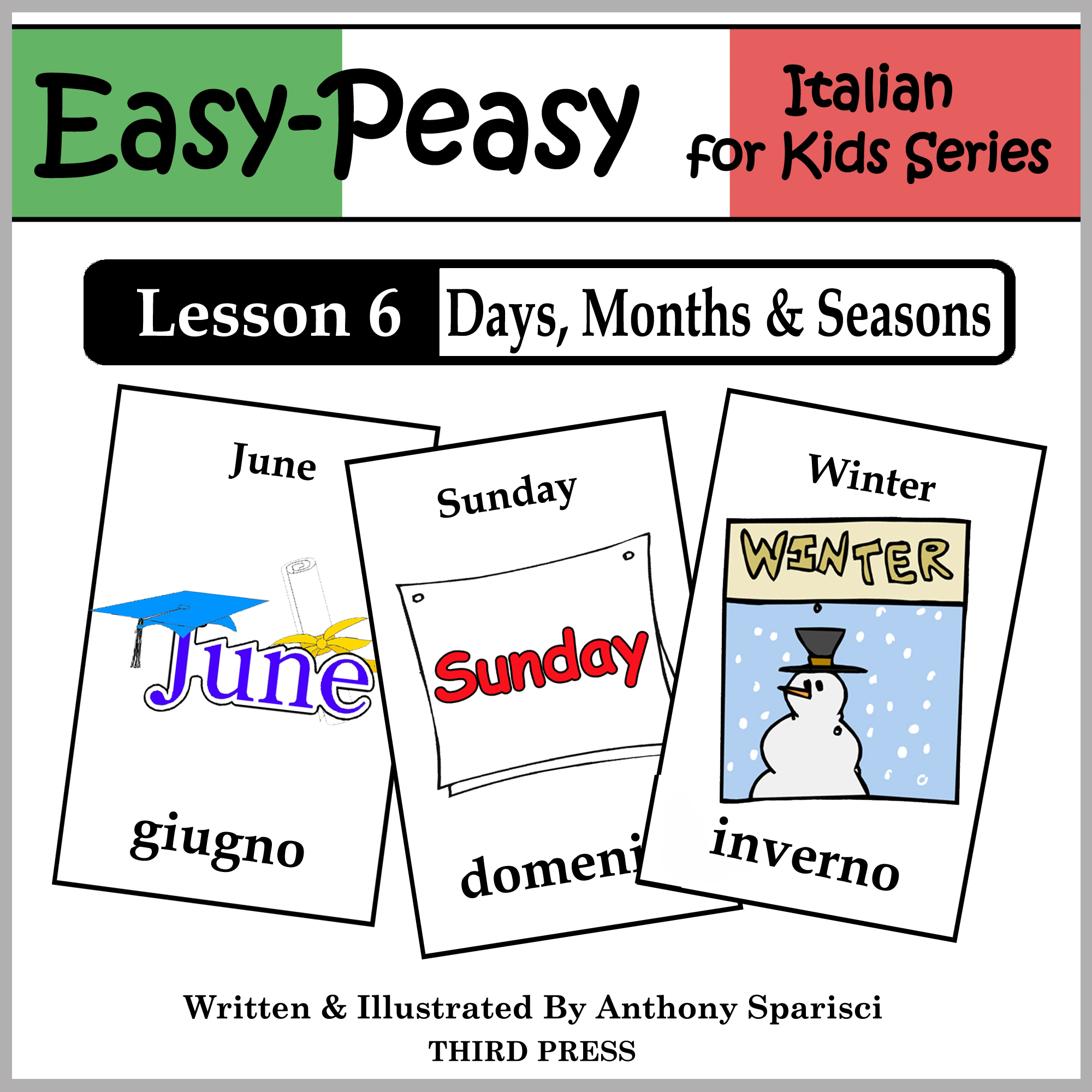 Italian Lesson 6: Months, Days & Seasons By: Anthony Sparisci