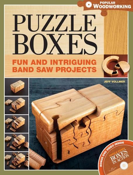 Puzzle Boxes: Fun and Intriguing Bandsaw Projects