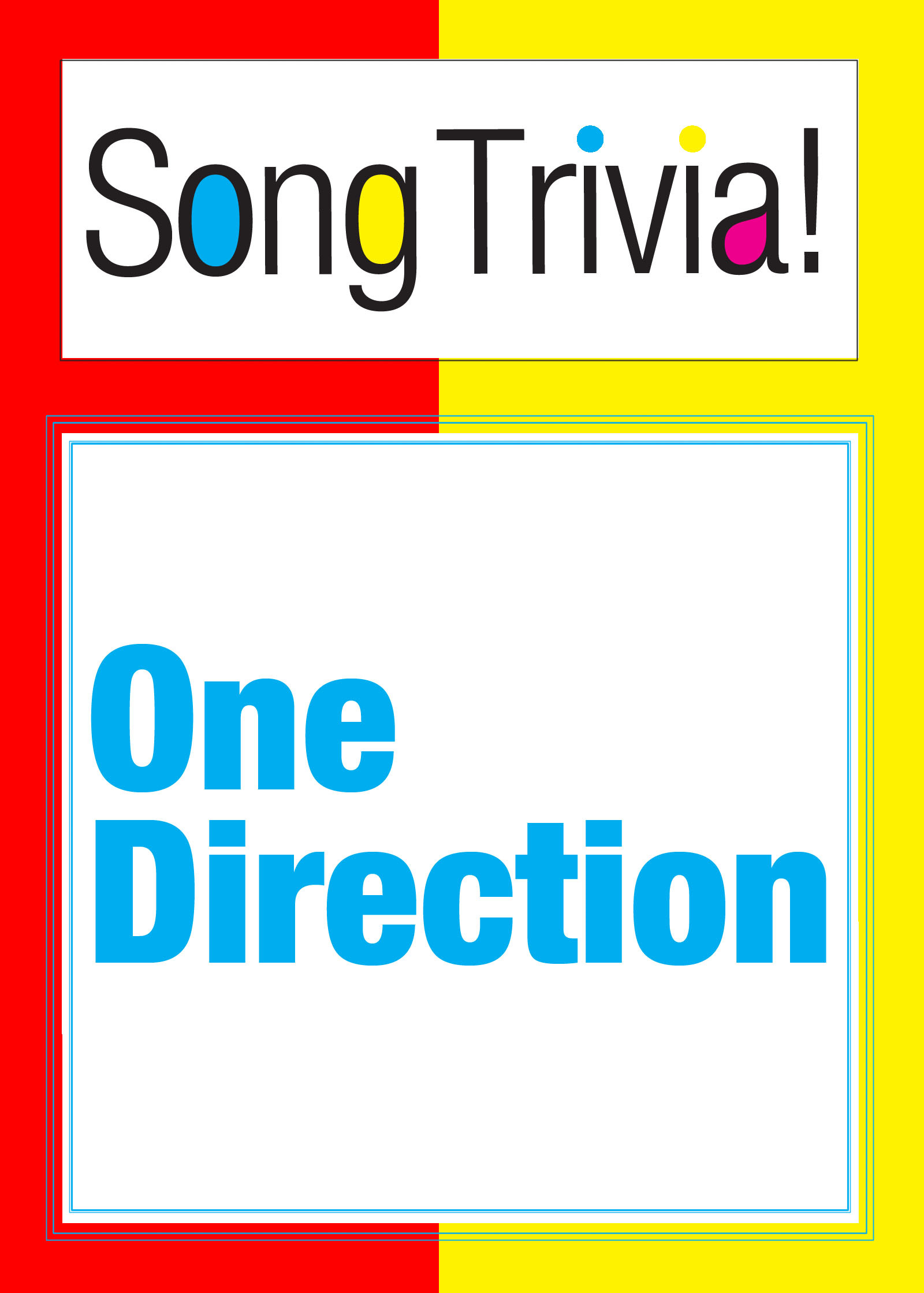 "One Direction SongTrivia! What's Your Music IQ? ""What Makes You Beautiful"", ""More Than This"", ""Live While You're Young"" & More: Interactive Trivia Quiz Game"