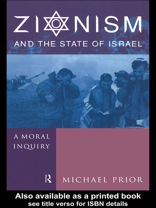 Zionism and the State of Israel A Moral Inquiry