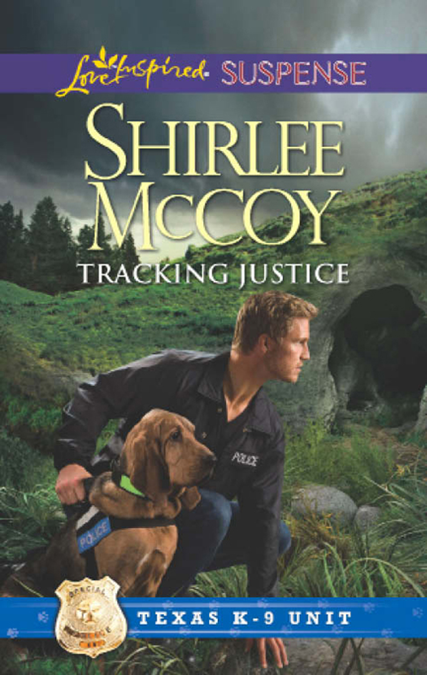 Tracking Justice (Mills & Boon Love Inspired Suspense) (Texas K-9 Unit - Book 1)