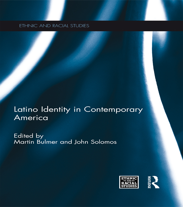 LATINO ID IN CONTEMPORARY AMERICA