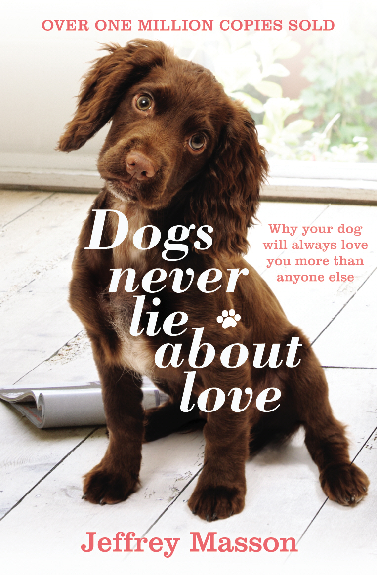 Dogs Never Lie About Love Why Your Dog Will Always Love You More Than Anyone Else