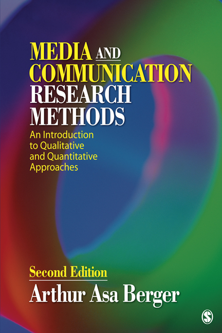 Media and Communication Research Methods An Introduction to Qualitative and Quantitative Approaches