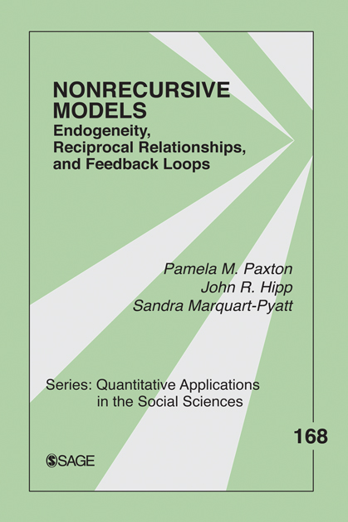 Nonrecursive Models Endogeneity,  Reciprocal Relationships,  and Feedback Loops