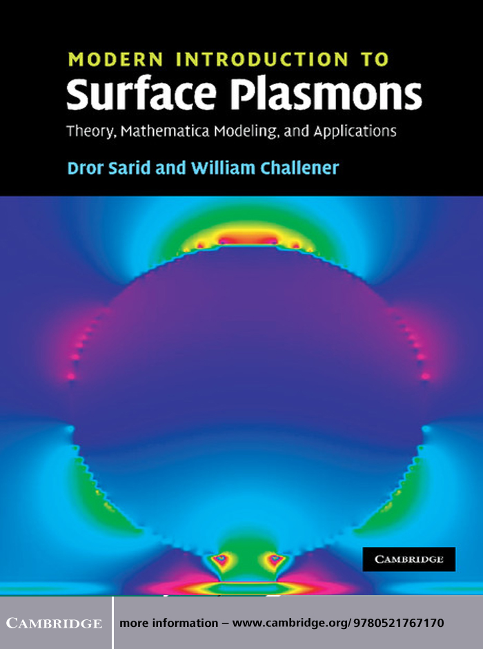Modern Introduction to Surface Plasmons Theory,  Mathematica Modeling,  and Applications