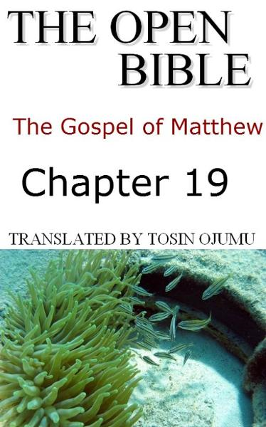 The Open Bible: The Gospel of Matthew: Chapter 19