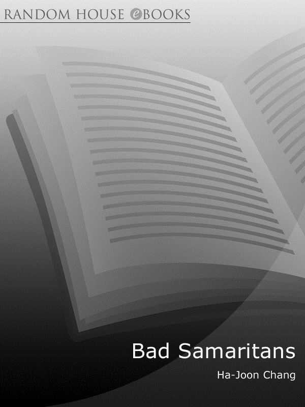 Bad Samaritans The Guilty Secrets of Rich Nations and the Threat to Global Prosperity