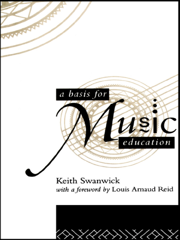 A Basis for Music Education