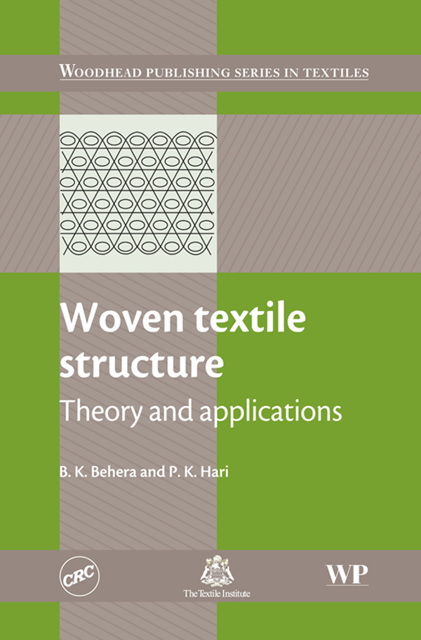 Woven Textile Structure Theory And Applications