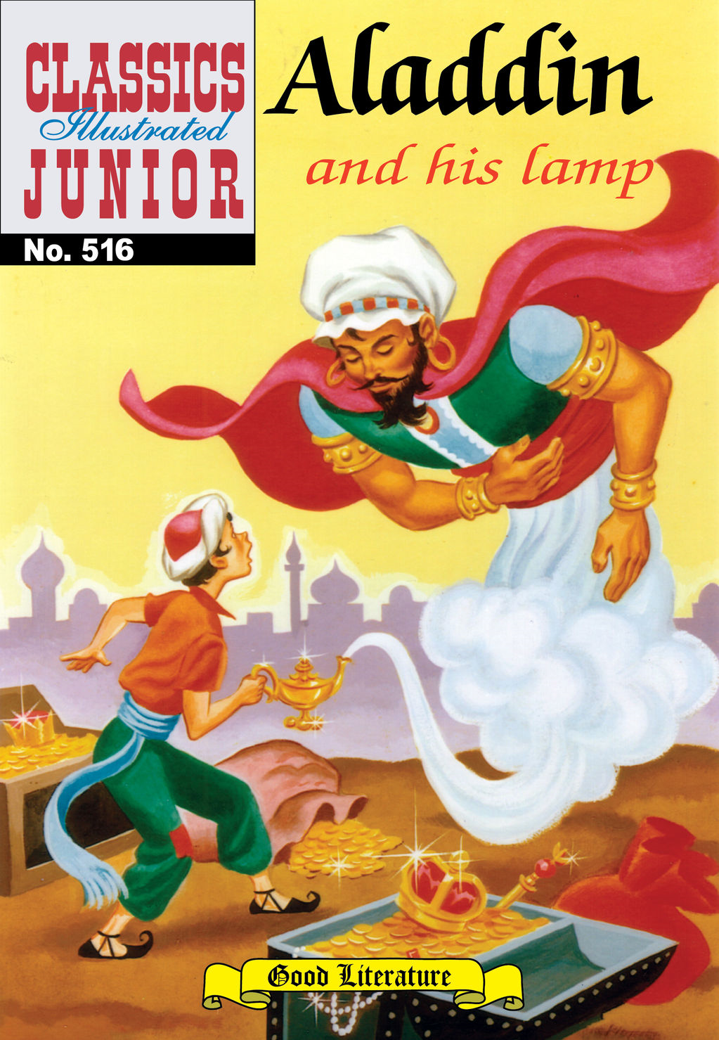 Aladdin and his Lamp - Classics Illustrated Junior #516