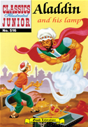 Aladdin And His Lamp - Classics Illustrated Junior #516:
