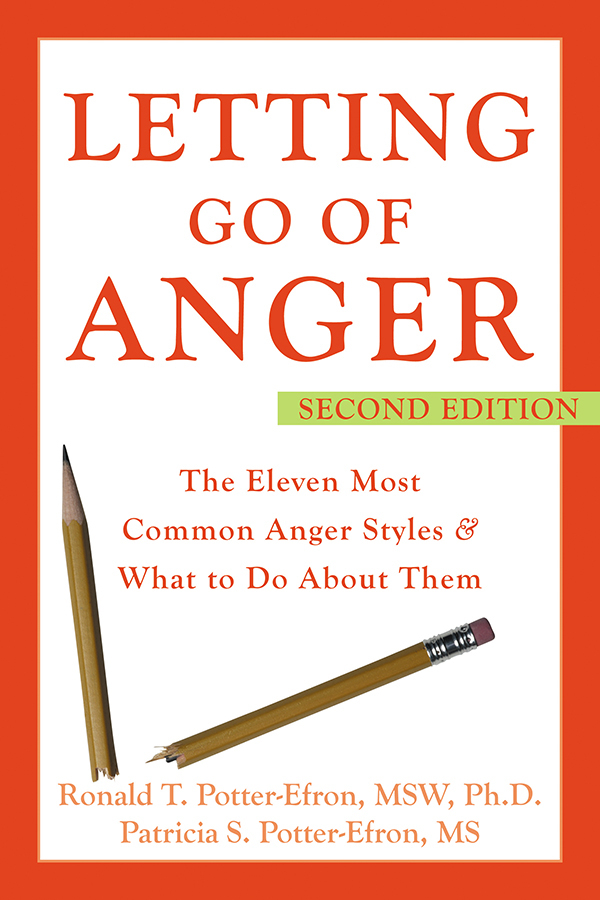 Letting Go of Anger By: Patricia Potter-Efron, MS,Ronald Potter-Efron, MSW, PhD