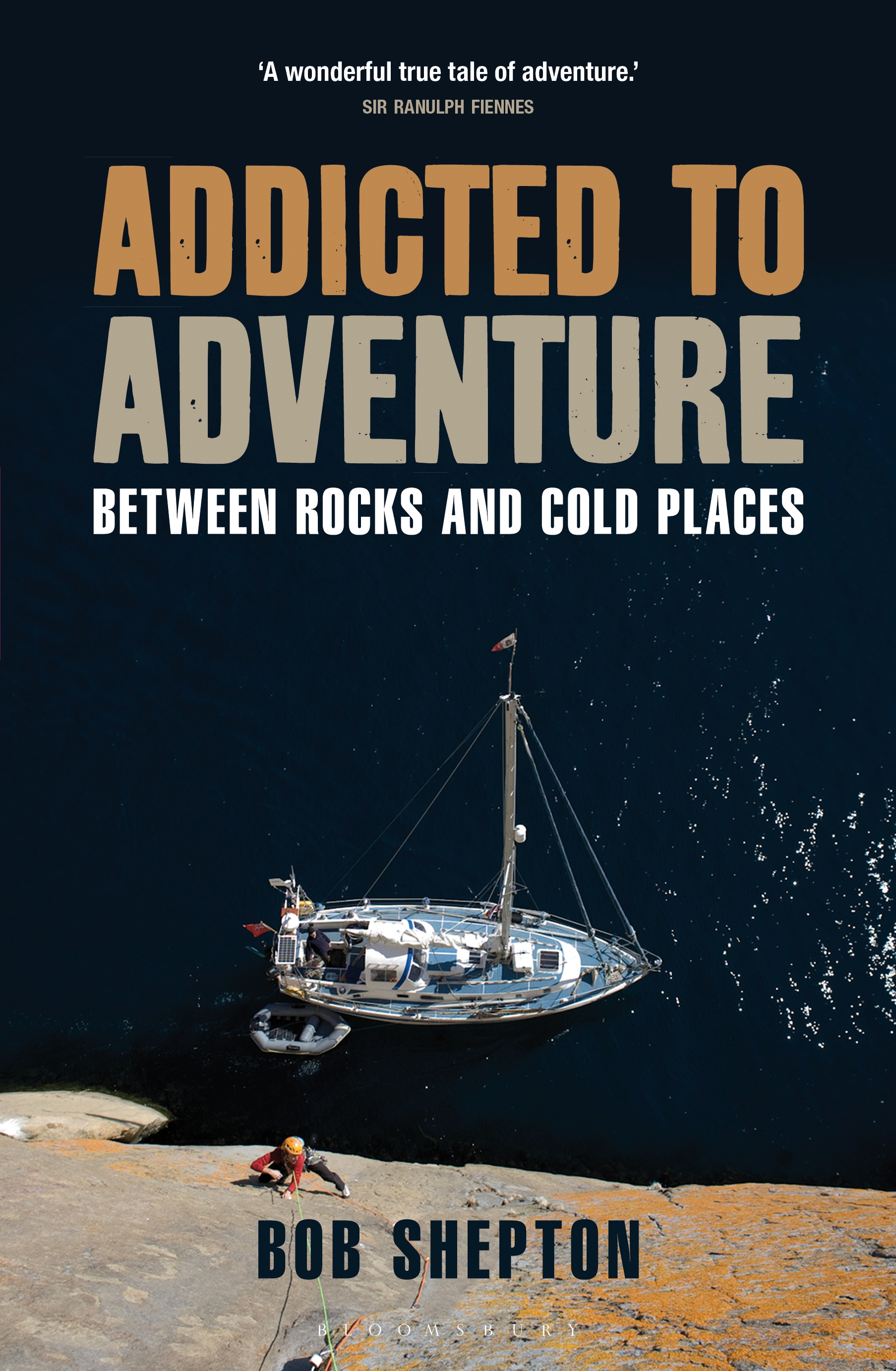 Addicted to Adventure Between rocks and cold places