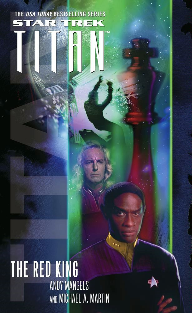 Star Trek: Titan #2: The Red king By: Andy Mangels,Michael A. Martin