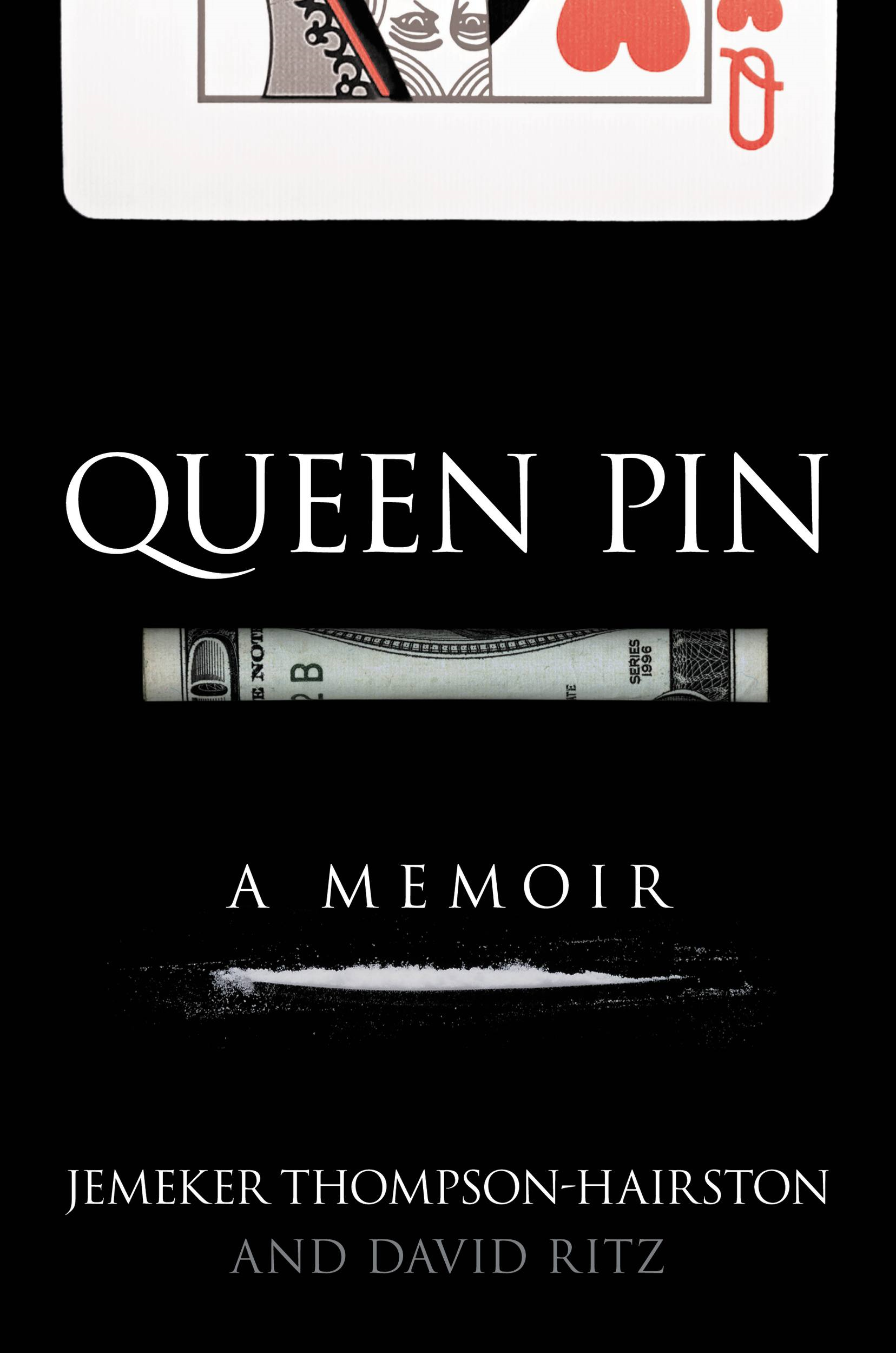 Queen Pin By: David Ritz,Jemeker Thompson-Hairston