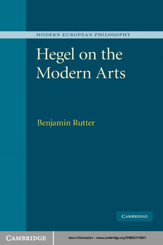 Hegel on the Modern Arts