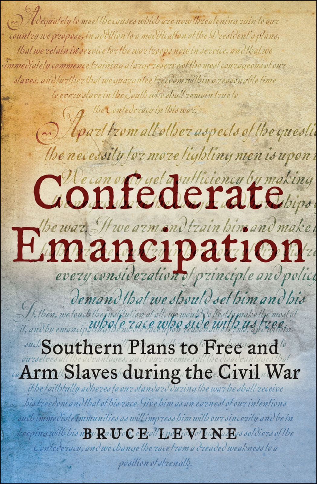 Confederate Emancipation : Southern Plans to Free and Arm Slaves during the Civil War