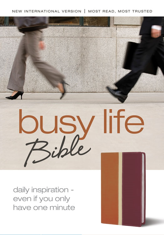Busy Life Bible: 60-Second Thought Starters on Topics That Matter to You