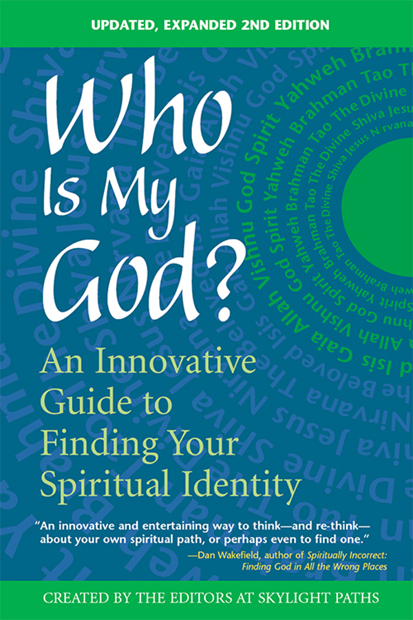 Who Is My God? 2nd Edition