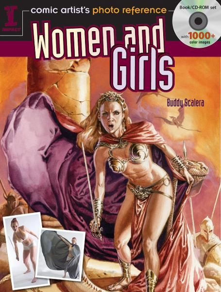 Comic Artist's Photo Reference Women And Girls