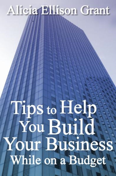 Tips to Help You Build Your Business While On A Budget By: Alicia Grant
