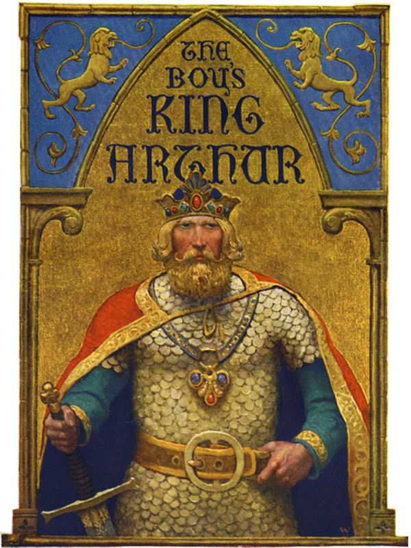 King Arthur and His Knights  (Illustrated and Free Audiobook Link)