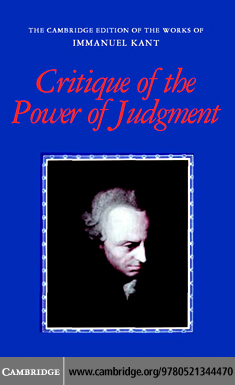 Critique of the Power of Judgment By: Kant,Immanuel